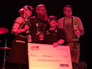 Winners of the 2016 Chefs for Farmers Main Event